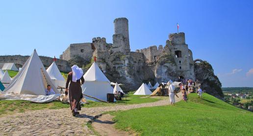 Zamek Ogrodzieniec się modernizuje! - zdjęcie