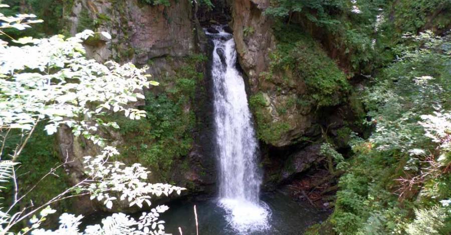 Wodospad Wilczki-Igliczna-Czarna Góra - zdjęcie