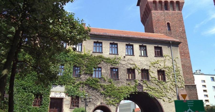 Brama Krakowska w Kluczborku - zdjęcie