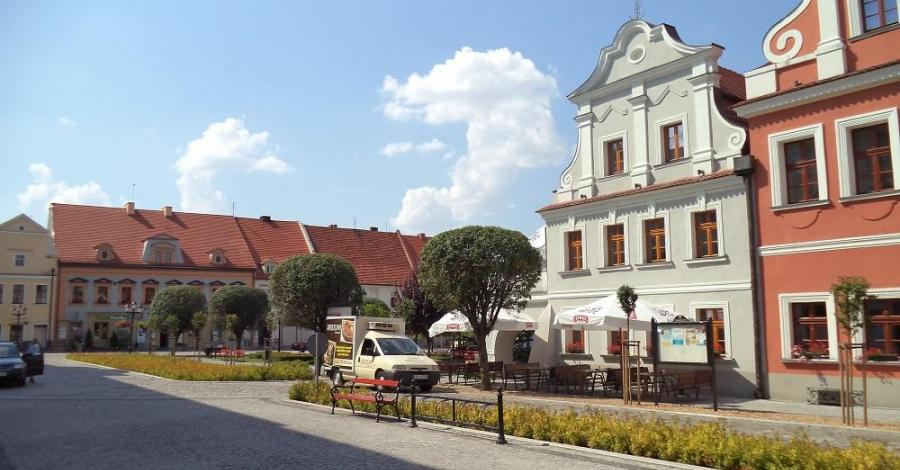 Rynek w Kluczborku - zdjęcie