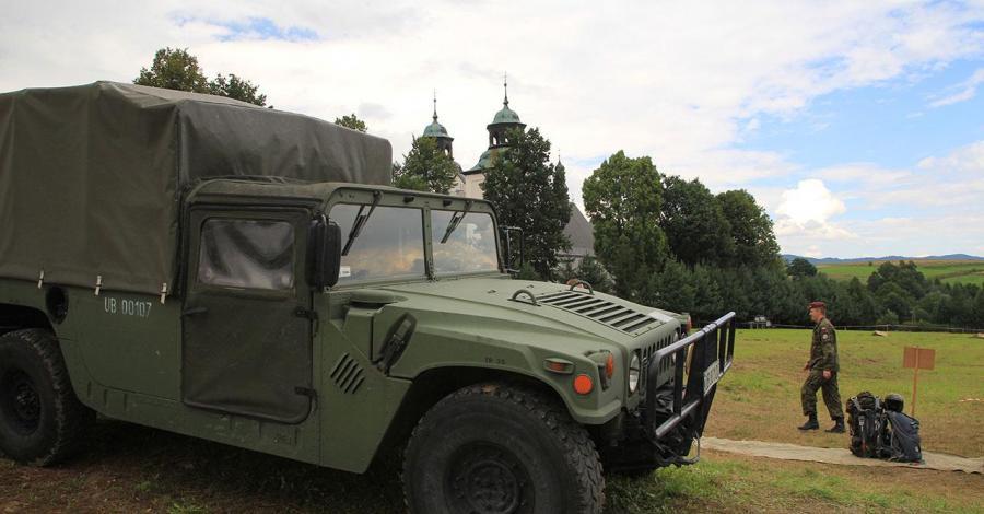 Święto Wojska Polskiego w Rychwałdzie - zdjęcie