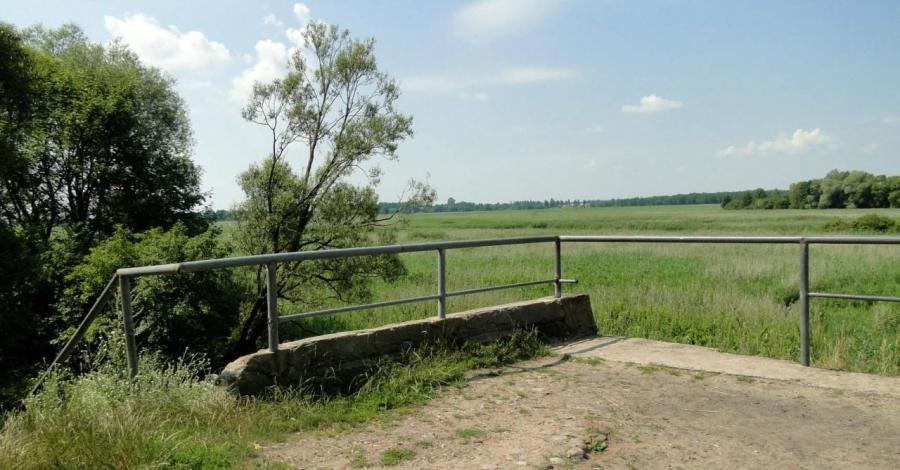 Zerwany Most w Kruszewie - zdjęcie
