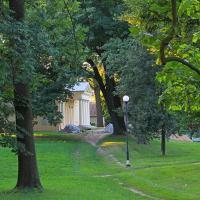 Park pałacowy w Puławach