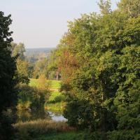 Widok na park krajobrazowy