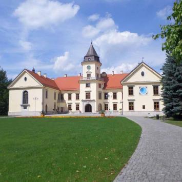Zamek Tarnowskich i Jezioro Tarnobrzeskie