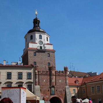 Brama Krakowska w Lublinie - zdjęcie