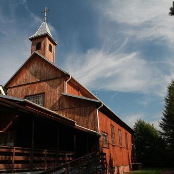 Drewniany kościół w Dęblinie