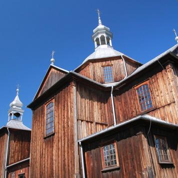 Drewniany kościół w Mnichowie