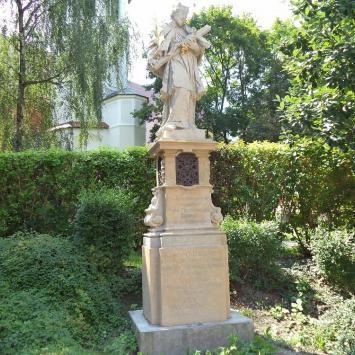 Figura Św. Nepomucena w Opolu