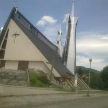 Kościół Św Stanisława Kostki w Limanowej