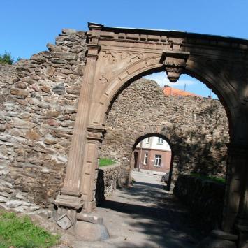 Mury obronne w Dzierżoniowie