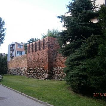 Mury obronne w Słupsku