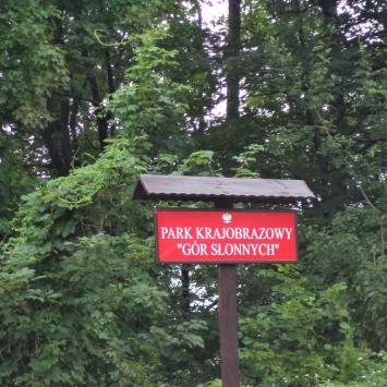 Park Krajobrazowy Gór Słonnych, Danusia