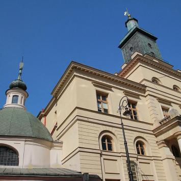 Plac Łokietka w Lublinie