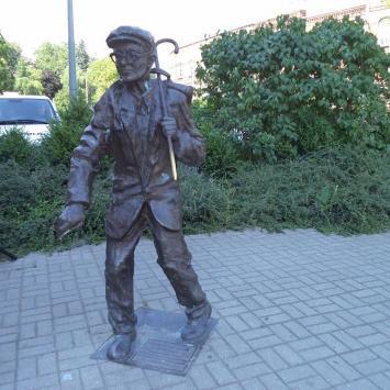 Pomnik kloszarda w Gorzowie
