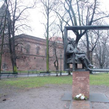 Pomnik Matejki w Krakowie