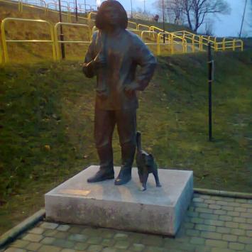 Pomnik Rybaka w Kartuzach