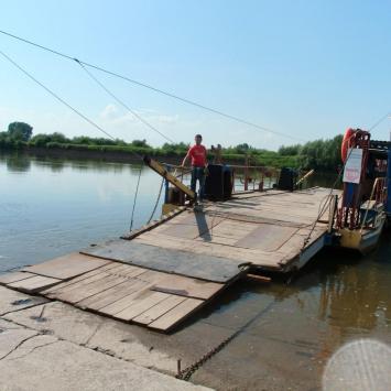 Przeprawa promowa w Baranowie Sandomierskim