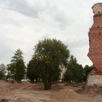 Ruiny zamku w Rytwianach