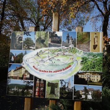 Ścieżka Św. Jadwigi we Wleniu