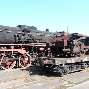 Skansen Kolejowy w Pyskowicach