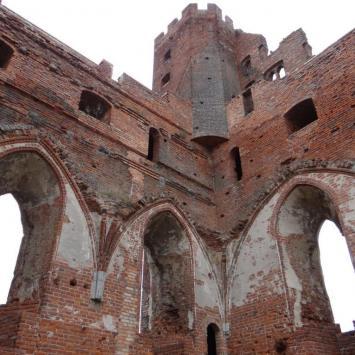 Zamek w Radzyniu Chełmińskim - zdjęcie