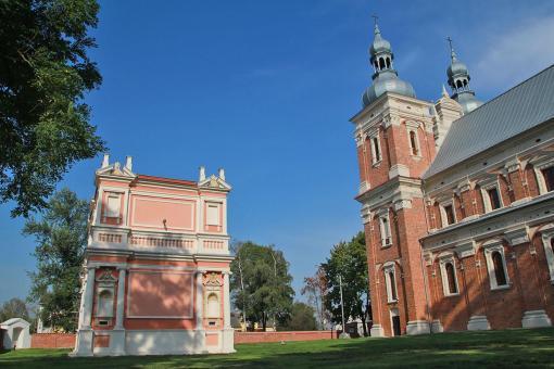 Gołąb kościół i Domek Loretański