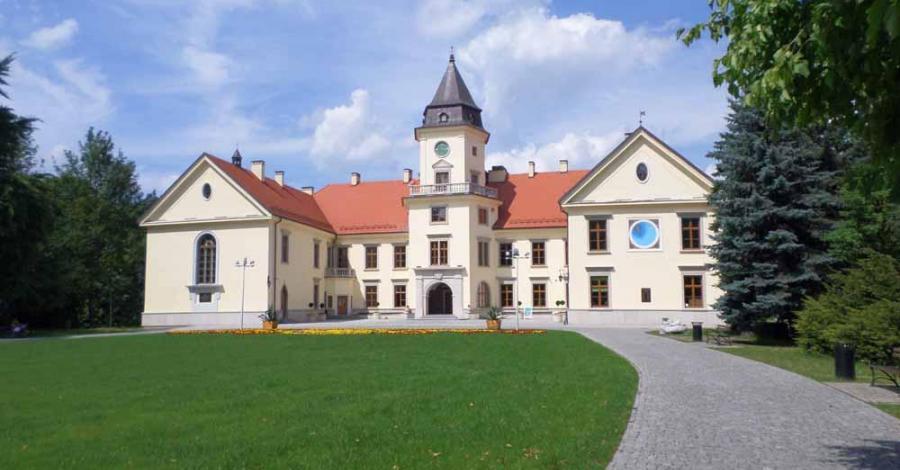 Zamek Tarnowskich i Jezioro Tarnobrzeskie - zdjęcie