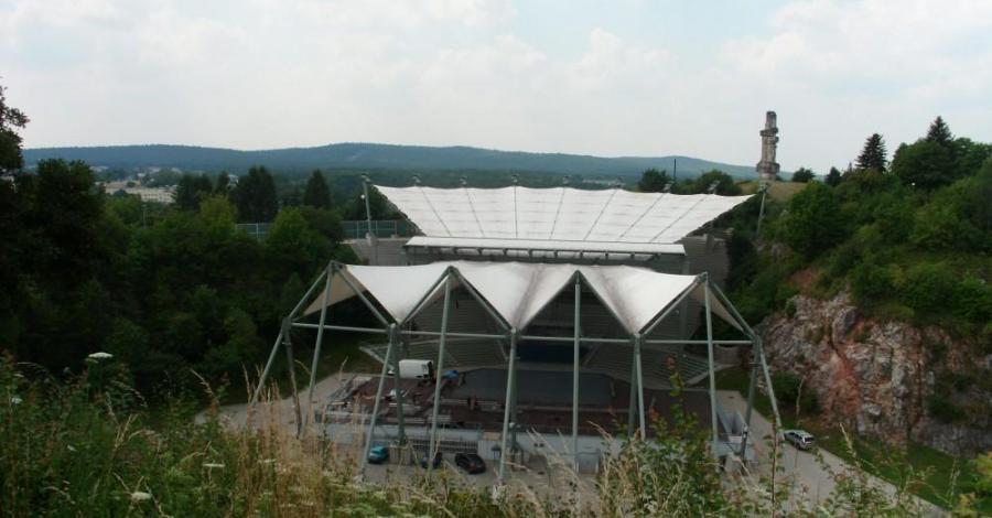 Amfiteatr w Kielcach, mokunka