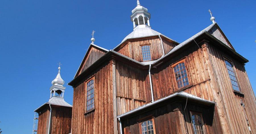 Drewniany kościół w Mnichowie - zdjęcie