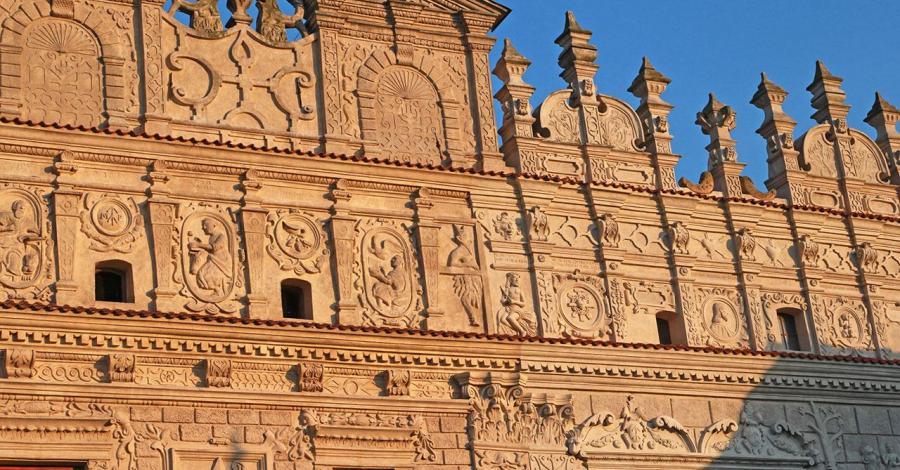 Kamienice Przybyłów w Kazimierzu Dolnym - zdjęcie