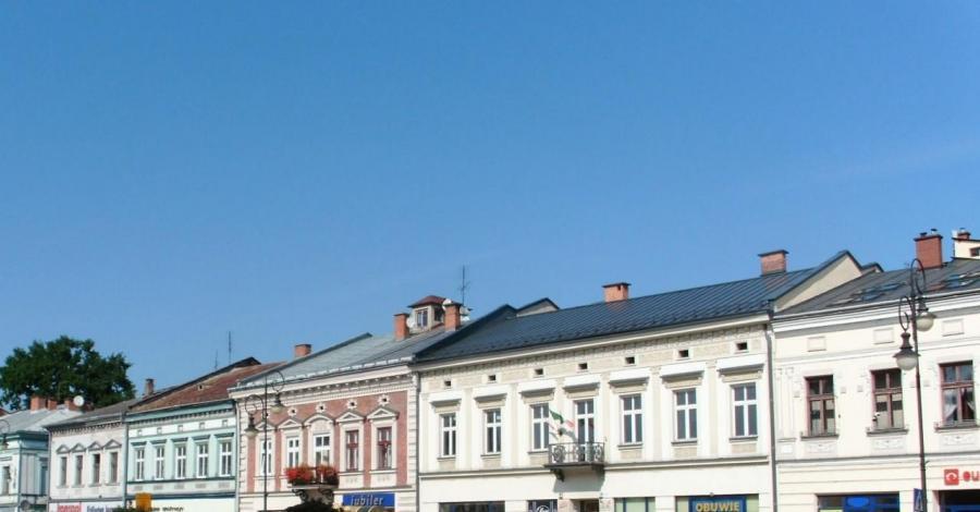 Kamienice w Krośnie - zdjęcie