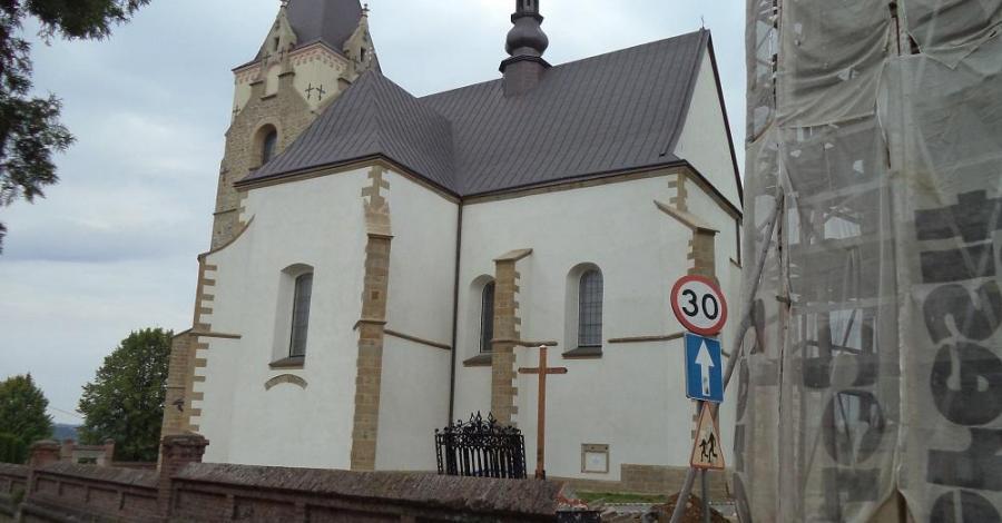 Kościół Nawiedzenia NMP w Lesku - zdjęcie