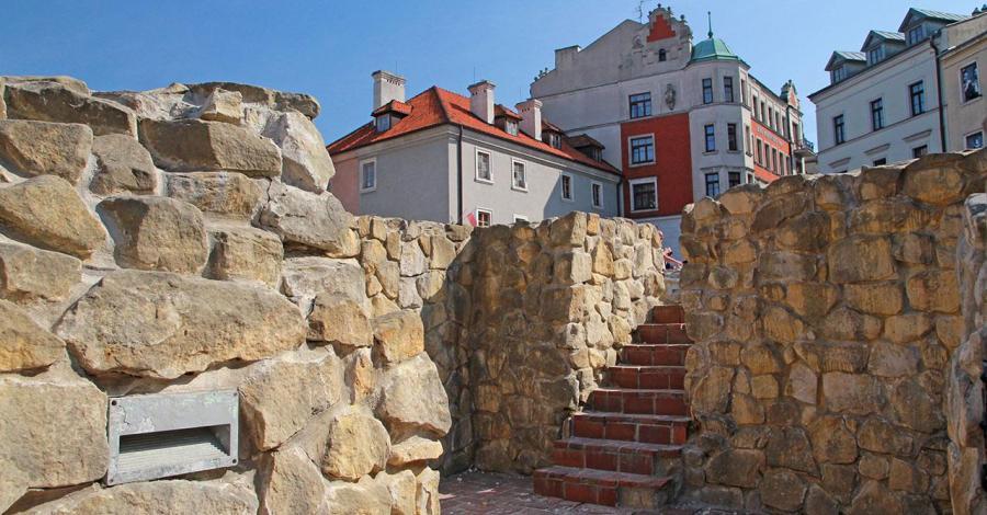 Mury obronne w Lublinie - zdjęcie