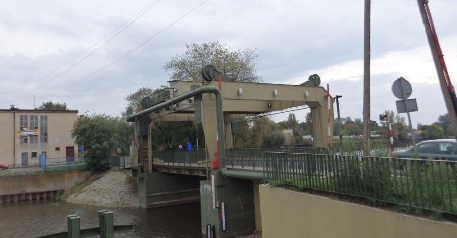 Most podnoszony w Nowej Soli - zdjęcie