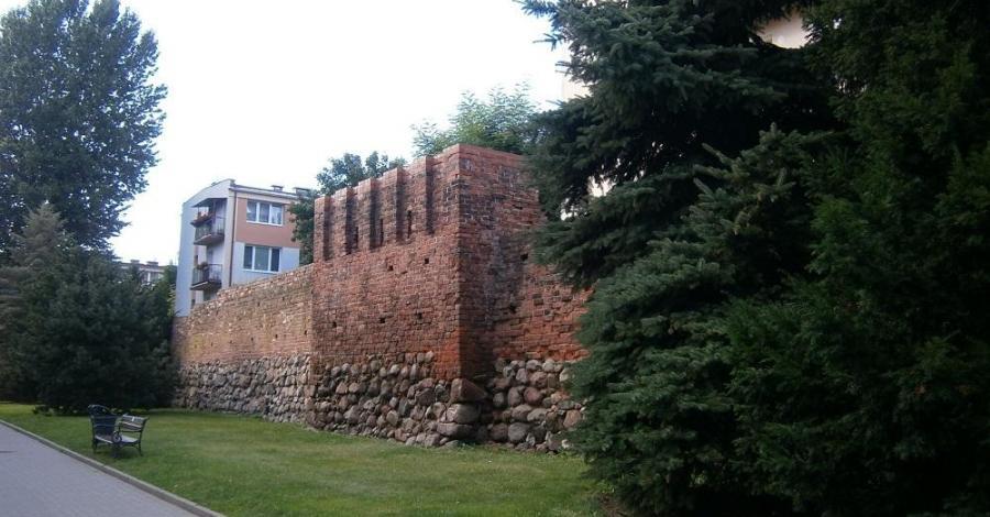 Mury obronne w Słupsku - zdjęcie