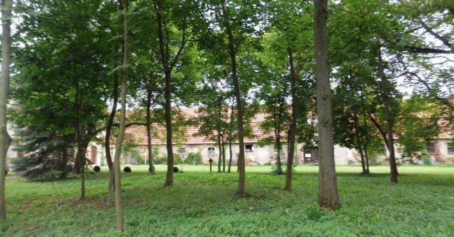 Park klasztorny w Obrze - zdjęcie