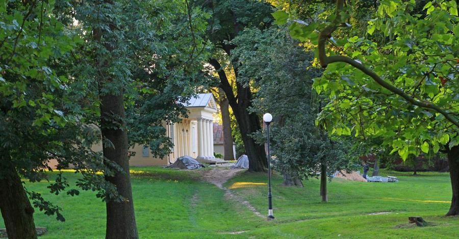 Park w Puławach - zdjęcie