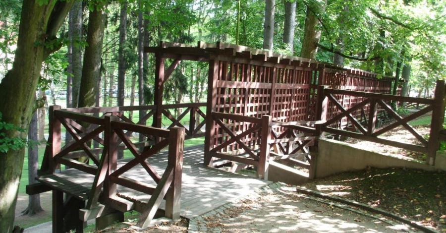 Park Zdrojowy w Długopolu Zdroju, mokunka