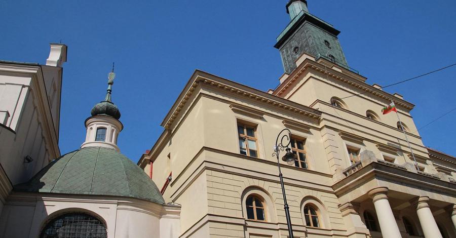 Plac Łokietka w Lublinie - zdjęcie
