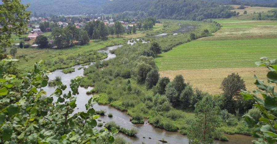 Platforma widokowa w Myczkowcach - zdjęcie