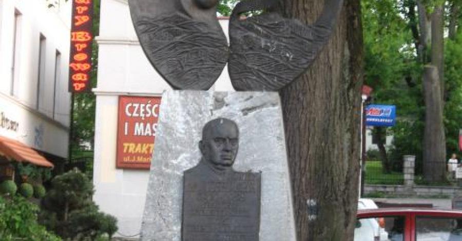Pomnik Józefa Marka w Limanowej - zdjęcie