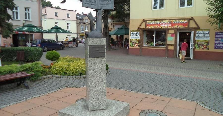 Pomnik książki w Lesku - zdjęcie