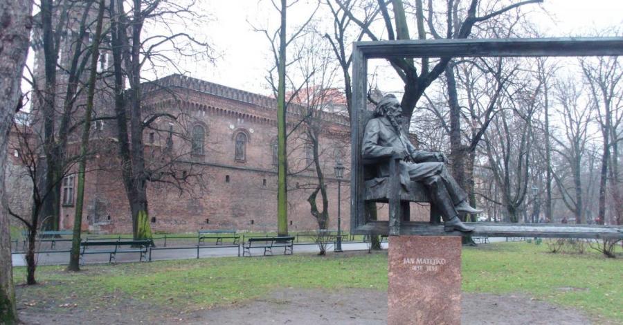 Pomnik Matejki w Krakowie - zdjęcie