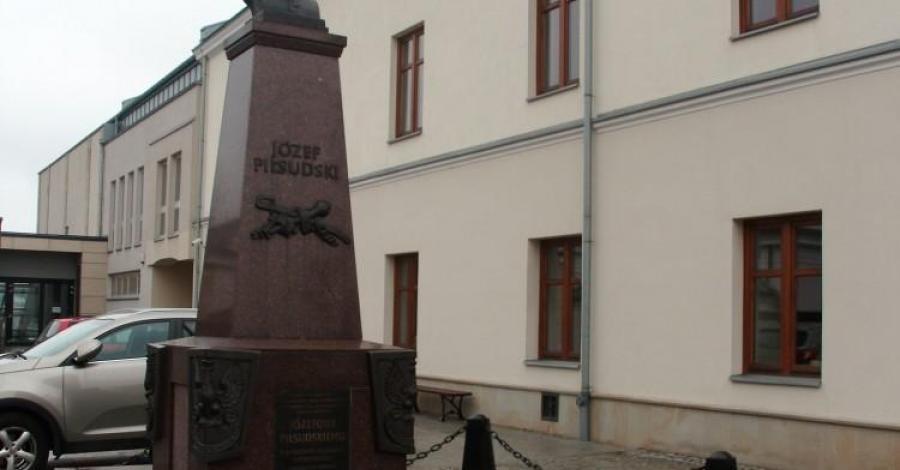 Pomnik Piłsudskiego w Krośnie - zdjęcie