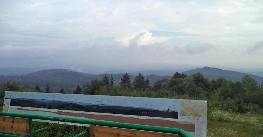Punkt widokowy Góry Słonne - zdjęcie