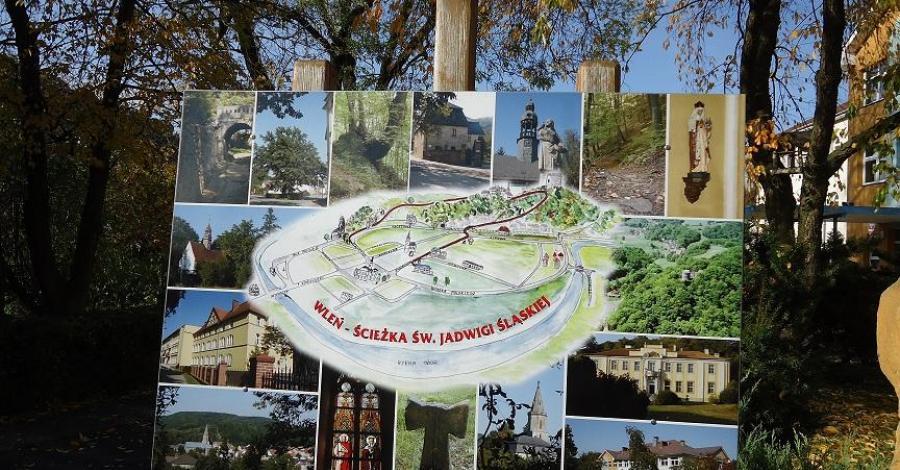 Ścieżka Św. Jadwigi we Wleniu - zdjęcie