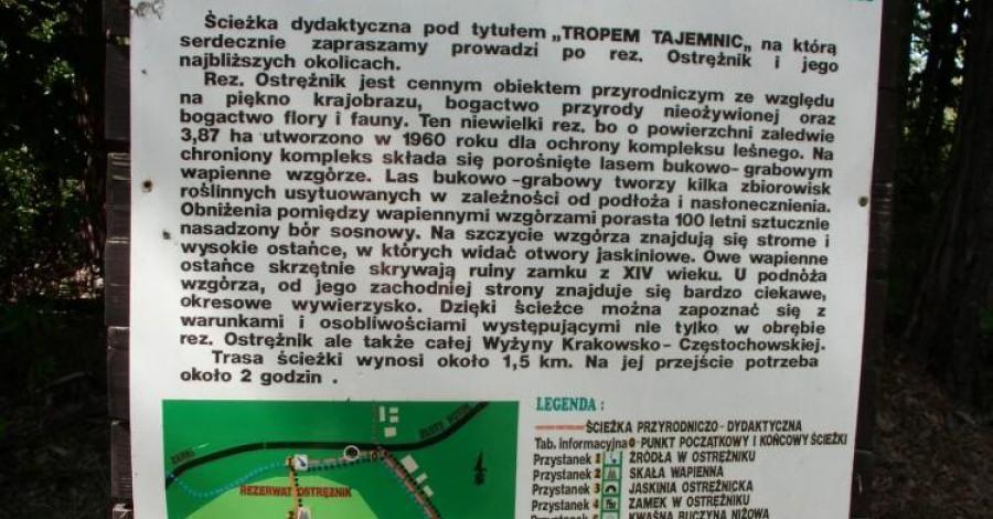 Ścieżka Tropem Tajemnic w Złotym Potoku - zdjęcie