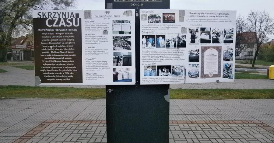 Skrzynia Czasu w Łebie - zdjęcie