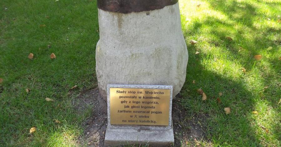 Ślady stóp Św. Wojciecha w Opolu - zdjęcie